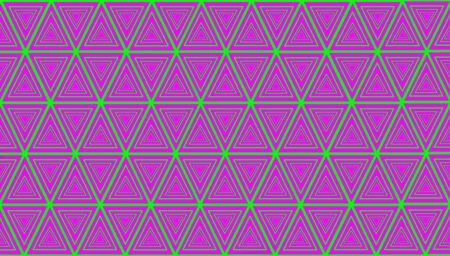 Muster der Dreiecke farbigen Hintergrund
