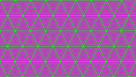 Pattern of triangles colorful background Stock Photo