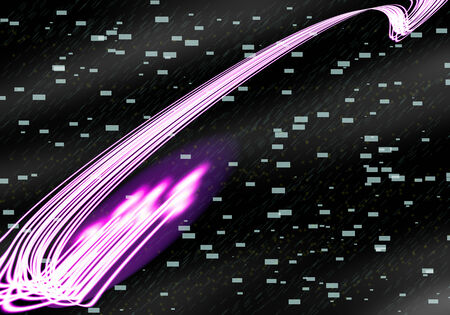 optical fiber Technology with background