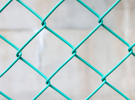 chain link green fence background photo
