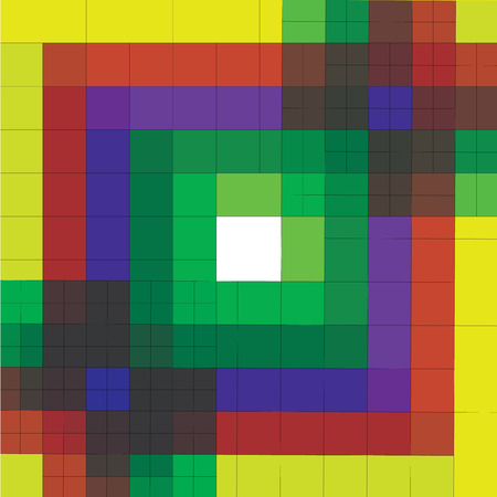 colorful of squares background