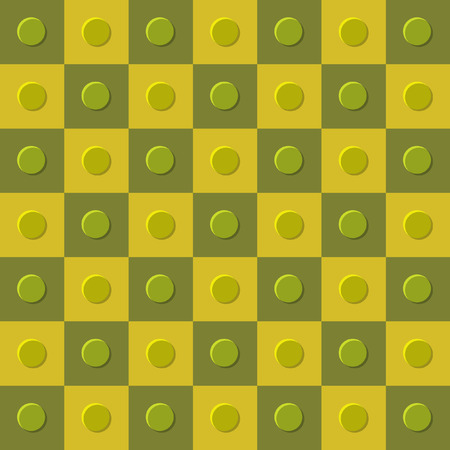 checkerboard: Checkerboard pattern with buttons background