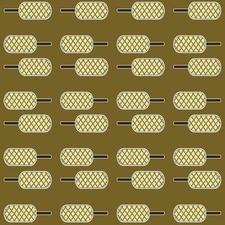 homemade bread: hot dog waffles pattern background