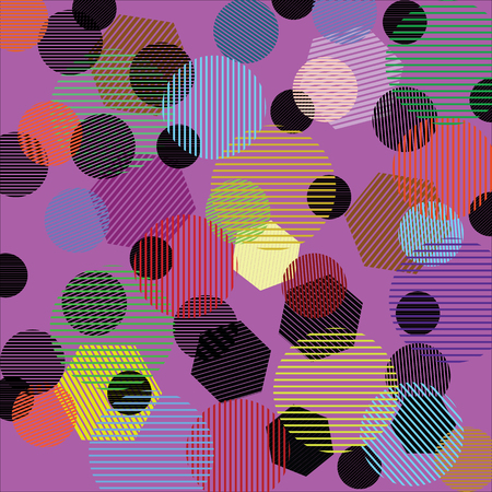 lines abstract background Illustration