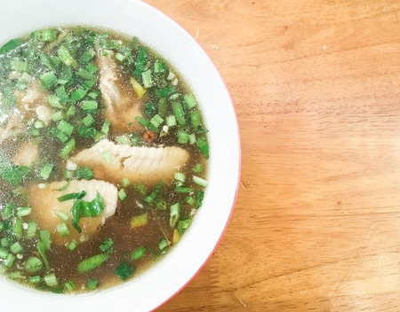 hot and spicy chicken soup