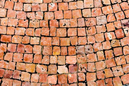 granite cobblestone pavement background