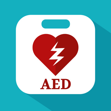 defibrillator: defibrillator icon Illustration