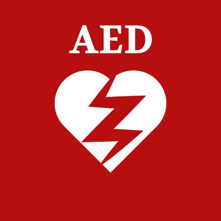 cardioverter: defibrillator icon Illustration