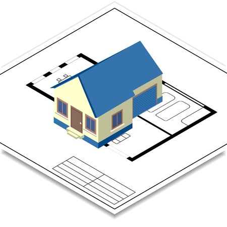 remodeling: house remodeling icon Illustration