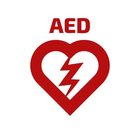 defibrillator icon Stock Illustratie