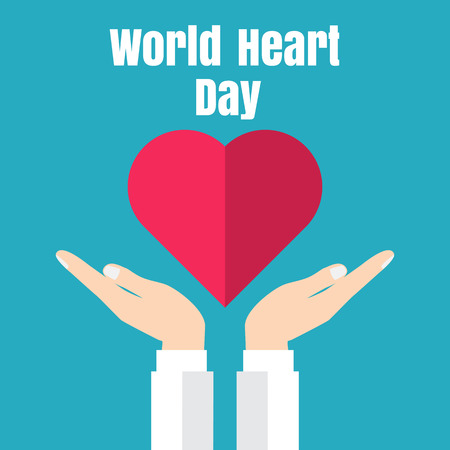 heart disease: World Heart Day Illustration