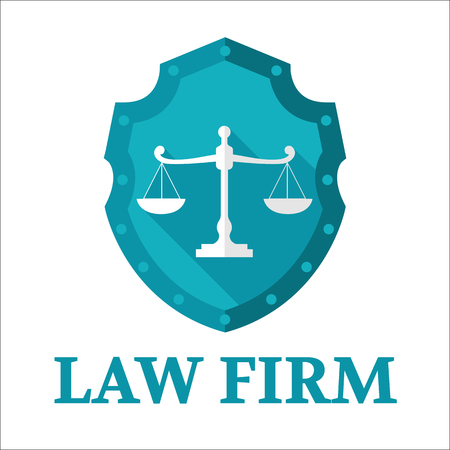firm: Law Firm logo Illustration