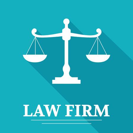 firm: Law Firm logo Illustration