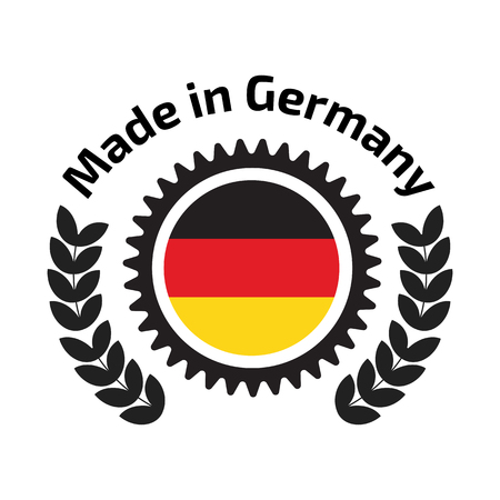 made in germany: Made in Germany badge