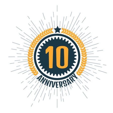 10: Anniversary 10 Illustration