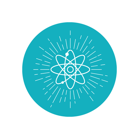 nuclear fusion: Electronics transform star icon. Electronics transform logo Illustration