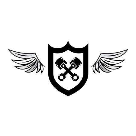 wing logo: Automotive Wing  Logo. Vector illustration Illustration