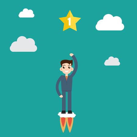 new beginning: New business model. New business project start up.Achievement and beginning