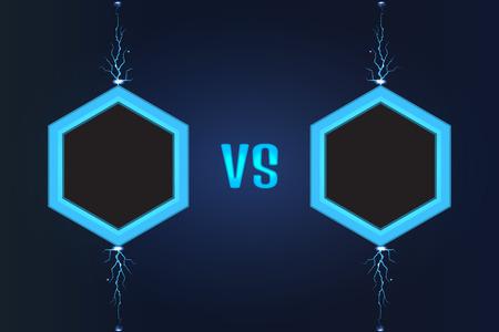 screen: Versus Screen vector