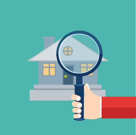 building inspector: home inspector icon
