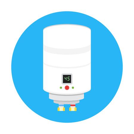 boiler: boiler icon vector