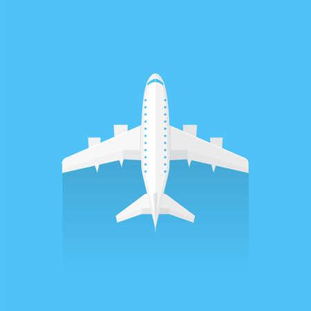 trendy: Airplane trendy icon