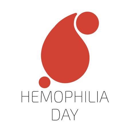 hemophilia: Hemophilia day Illustration