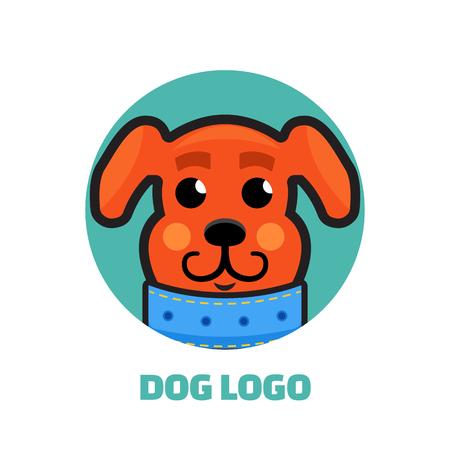 dog walker: Dog Walker logo. Dog logo. Logo veterinarian clinic, pet shop logo. Illustration