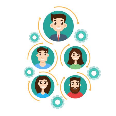 jerarquia: concepto de jerarqu�a de la oficina