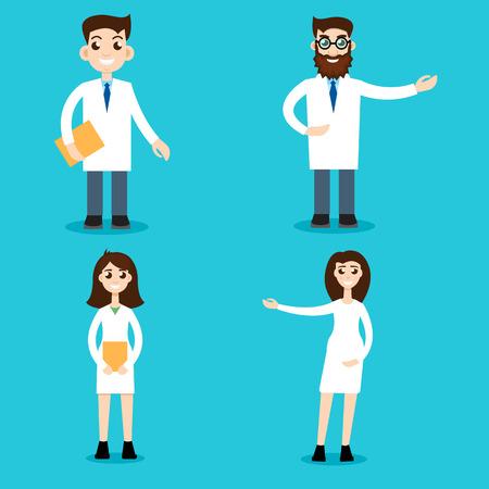 Professional vet doctors set
