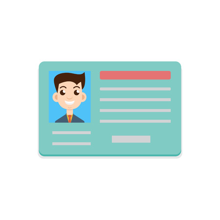 driver autorijbewijs icon Stock Illustratie