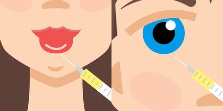 injections: Beauty injections, Hyaluronic Acid injections. Lip augmentation.Botox