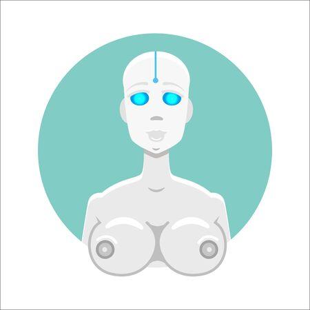 cyber girl: Cyber, robot girl