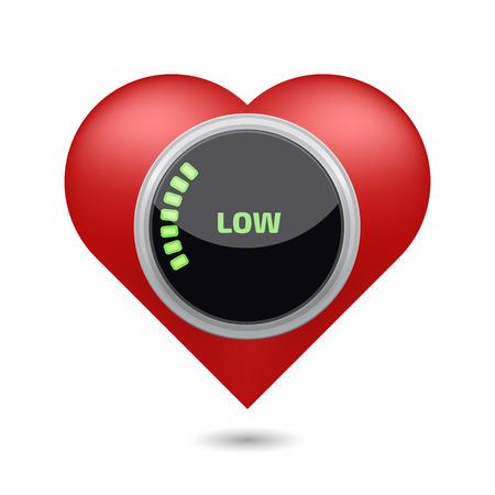 Low blood pressure digital concept 免版税图像 - 61453412