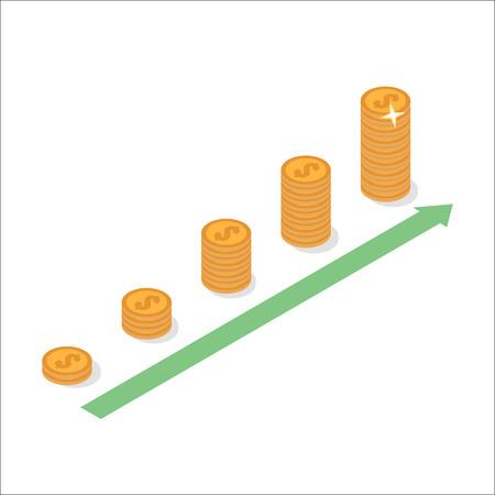 Cash flow graph