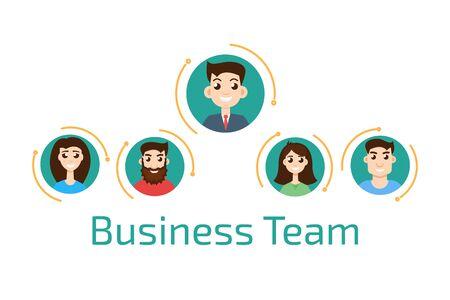 business team: Avatar business team