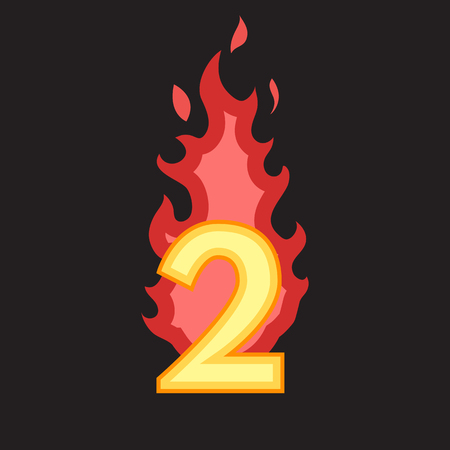 flaming: Flaming Number two