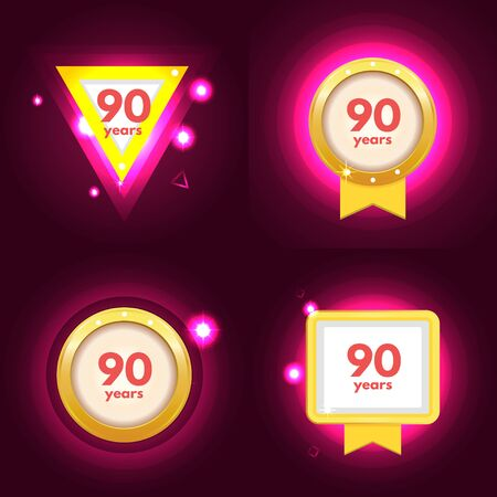 90th: Anniversary 90 icon