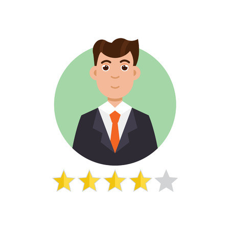 opinions: Feedback User. Customer reviews concept. Vector illustration Illustration