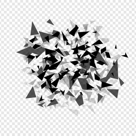 Abstract  hexagons hatter burst . Geometric texture background template isolated.  Vector illustration. 矢量图像