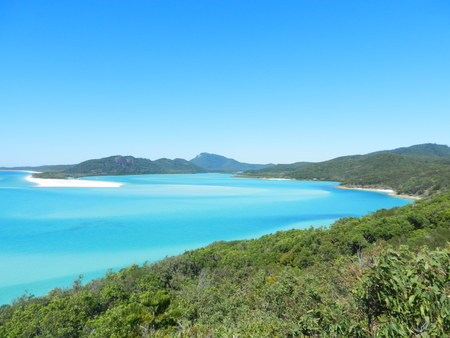 whitsunday: Hill Inlet Lookout, Whitsunday Island, Queensland, Australia