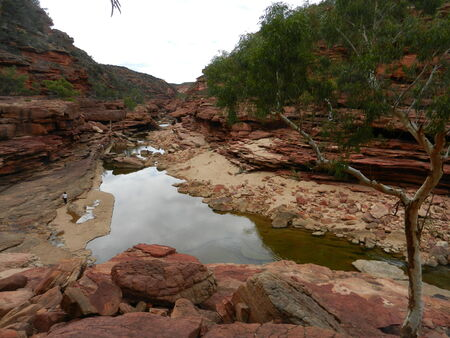 Kalbarri NP, Murchinson River Gorges, Z Bend photo