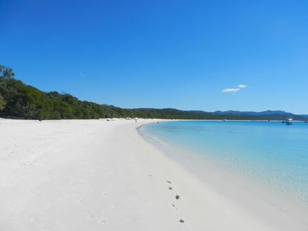 whitehaven: Whitehaven Beach, Whitsunday Island, Queensland, Australia Stock Photo