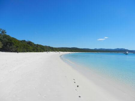 whitehaven: Whitehaven Beach, Whitsunday Island, Queensland, Australia Stock Photo