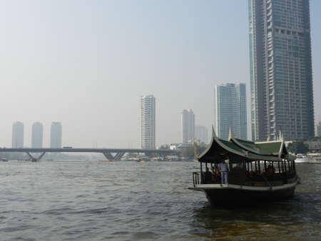 praya: Chao Praya River, Bangkok, Thailand Editorial