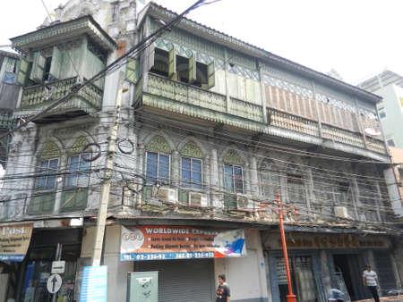 thanon: Thanon Ratchawong, Bangkok, Thailand Editorial