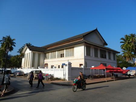 thanon: Thanon Sisavangvong, Luang Prabang, Laos Editorial