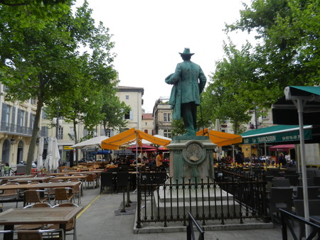 arles: Place du Forum, Arles, Provence, France