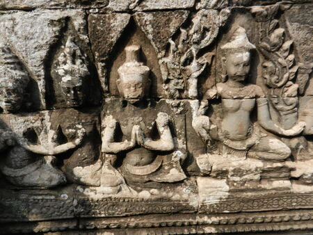 thom: The Bayon, Angkor Thom, Cambodia