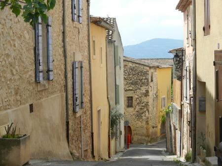 luberon: Merindol, Luberon, Provence, France Stock Photo